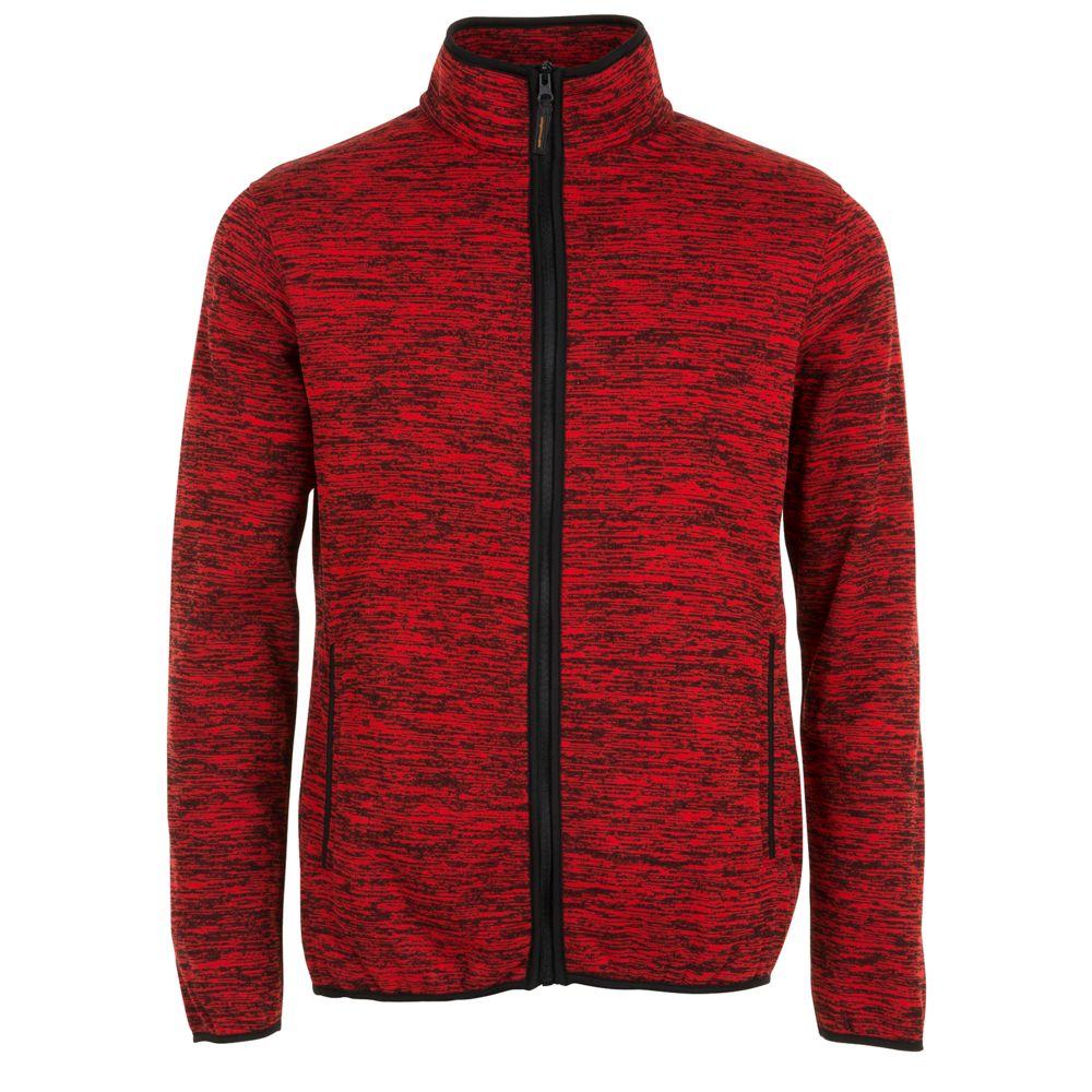 Куртка флисовая TURBO красный/черный, размер L платье concept club rely цвет красный 10200200342 размер l 48