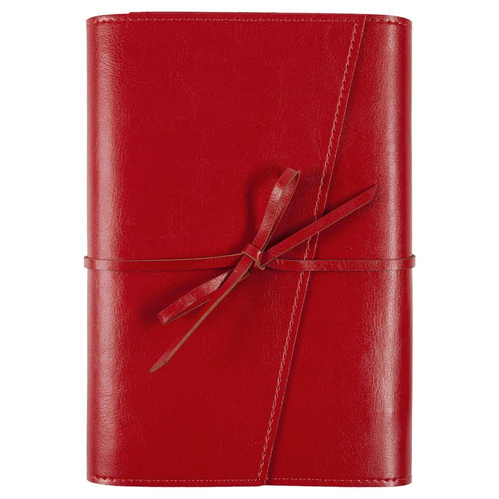 Ежедневник Strap, недатированный, красный