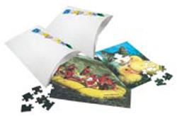 Фото - Заготовка пазлы A4/80 степ пазл кубики чебурашка 12шт step puzzle