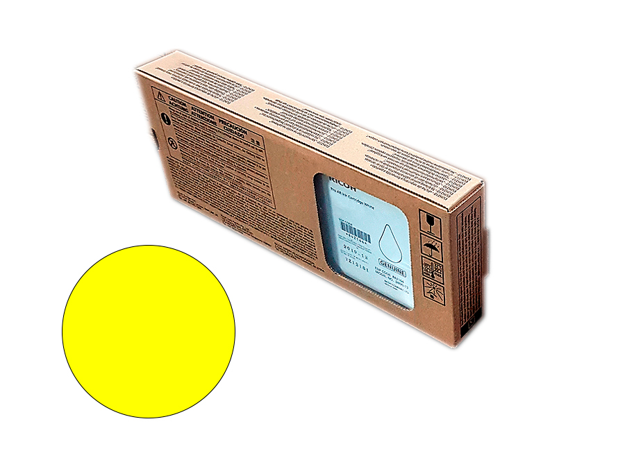 Ricoh AR ink cartridge Yellow 600 мл (344103)