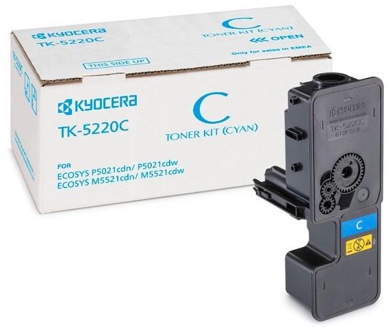 Фото - Тонер-картридж Kyocera TK-5220C тонер картридж kyocera tk 140 1t02h50euc black