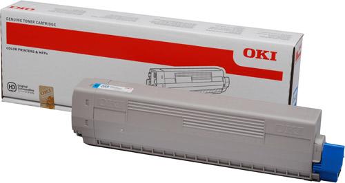 Тонер-картридж TONER-C-C831/841/C831DM-10K (44844507) тонер картридж toner c mc873 10k neu 45862847