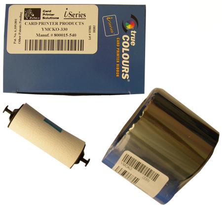 Фото - Полноцветная лента Zebra YMCKO 800015-540 полноцветная лента zebra ymckok 800033 348