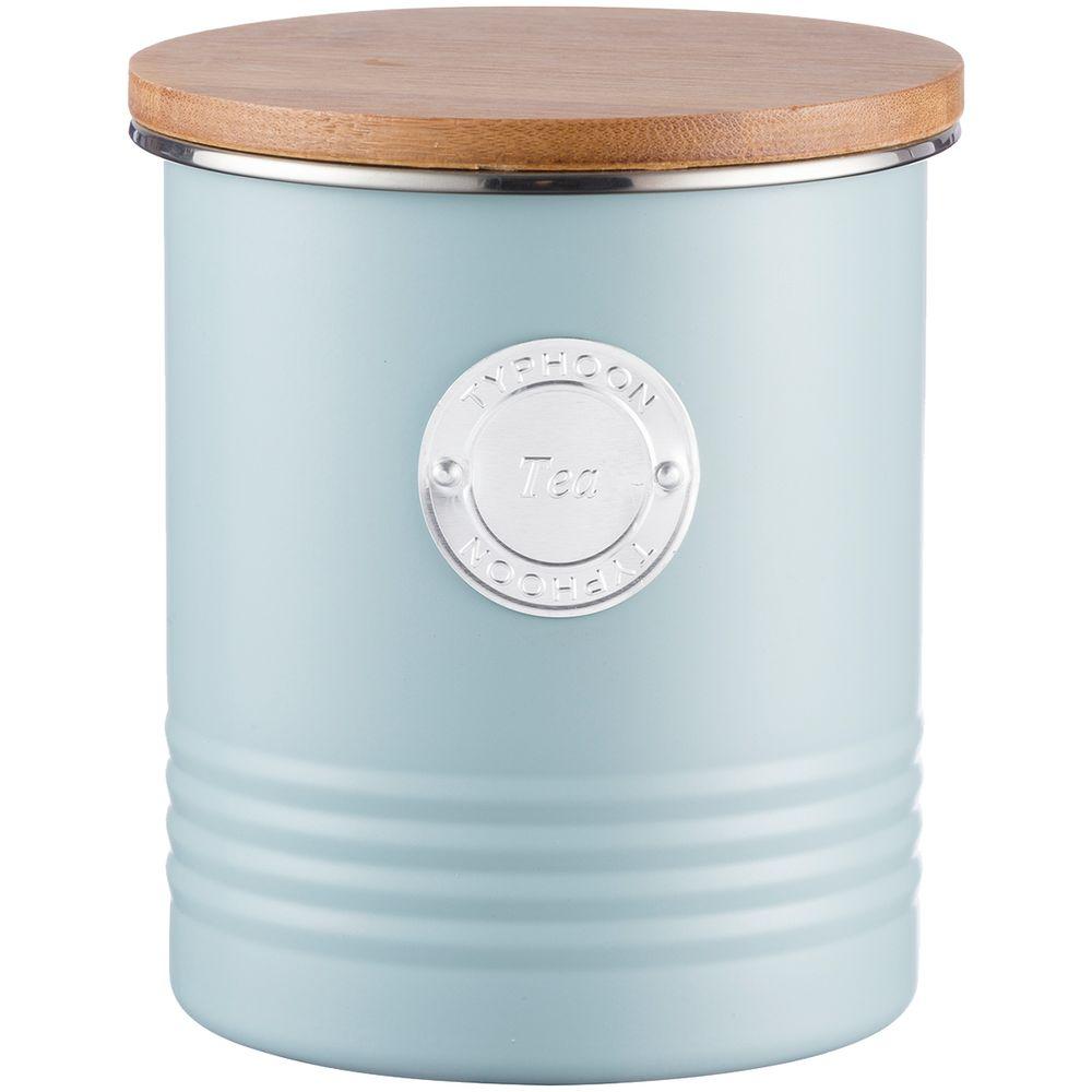 Фото - Емкость для хранения чая Living, голубая емкость для хранения чая living nostalgia 11х11х17 см зеленая lnteagrn kitchen craft