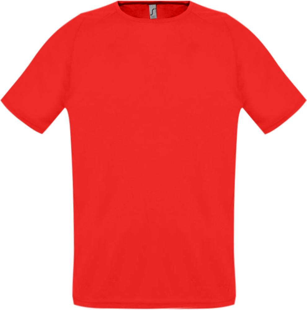 Футболка унисекс SPORTY 140 красная, размер XXS футболка для мальчиков termit размер 140