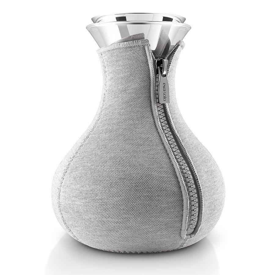 Чайник заварочный Tea Maker в чехле, светло-серый