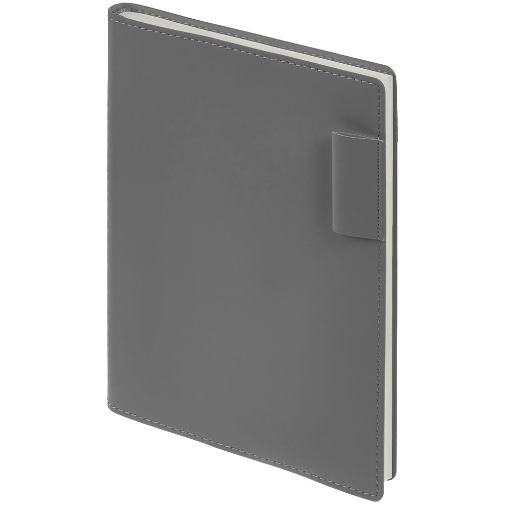 Ежедневник Tact, недатированный, серый