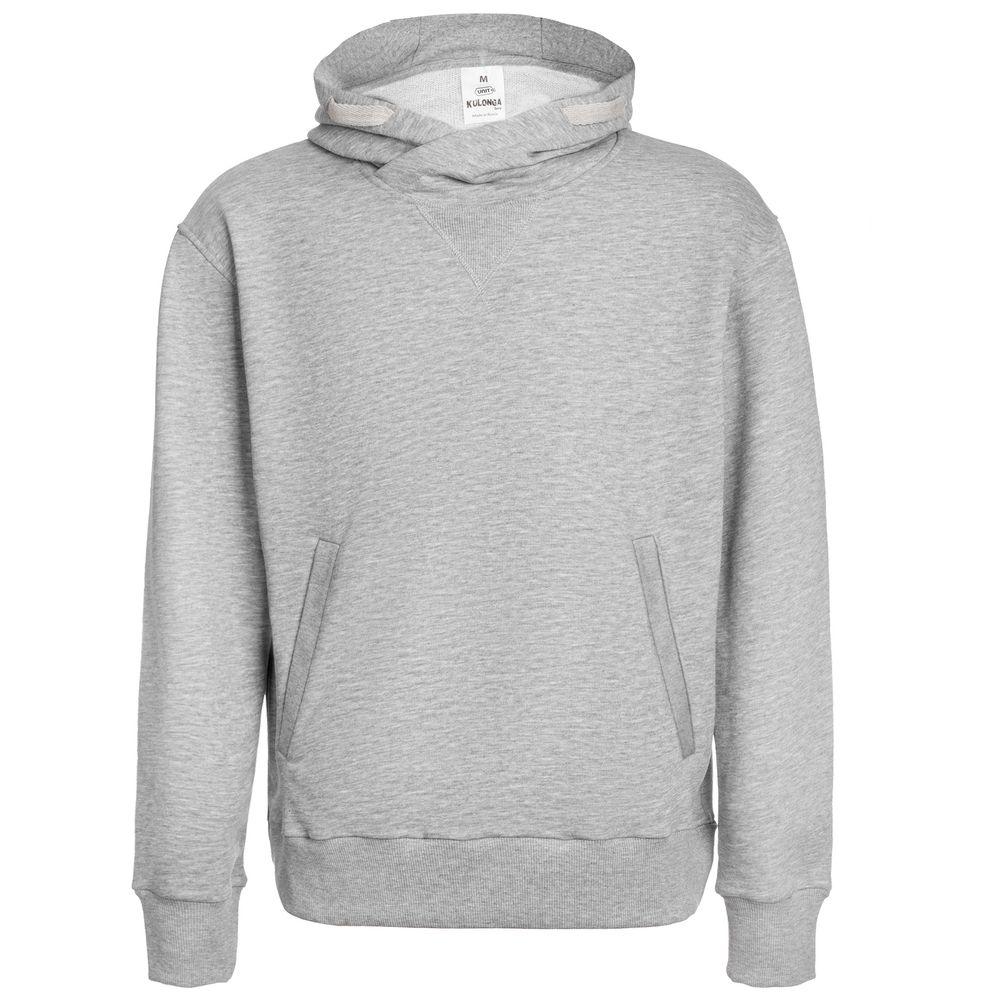 цена Толстовка Kulonga Terry, серый меланж, размер XXL онлайн в 2017 году