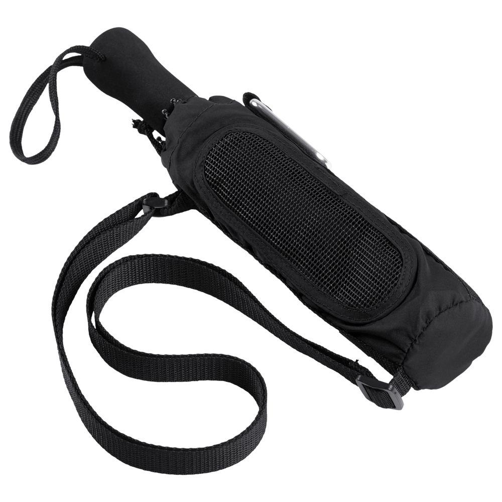 Фото - Складной зонт Hogg Trek, черный зонт складной fabretti fabretti fa003dwepqk2