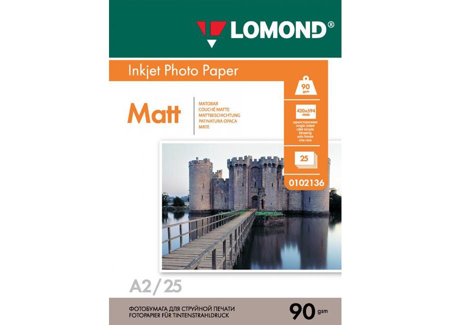 Фото - Lomond для струйной печати, A2, 90 г/м2, 25 листов, односторонняя, матовая (0102136) printio плакат a2 42×59 читай ленина