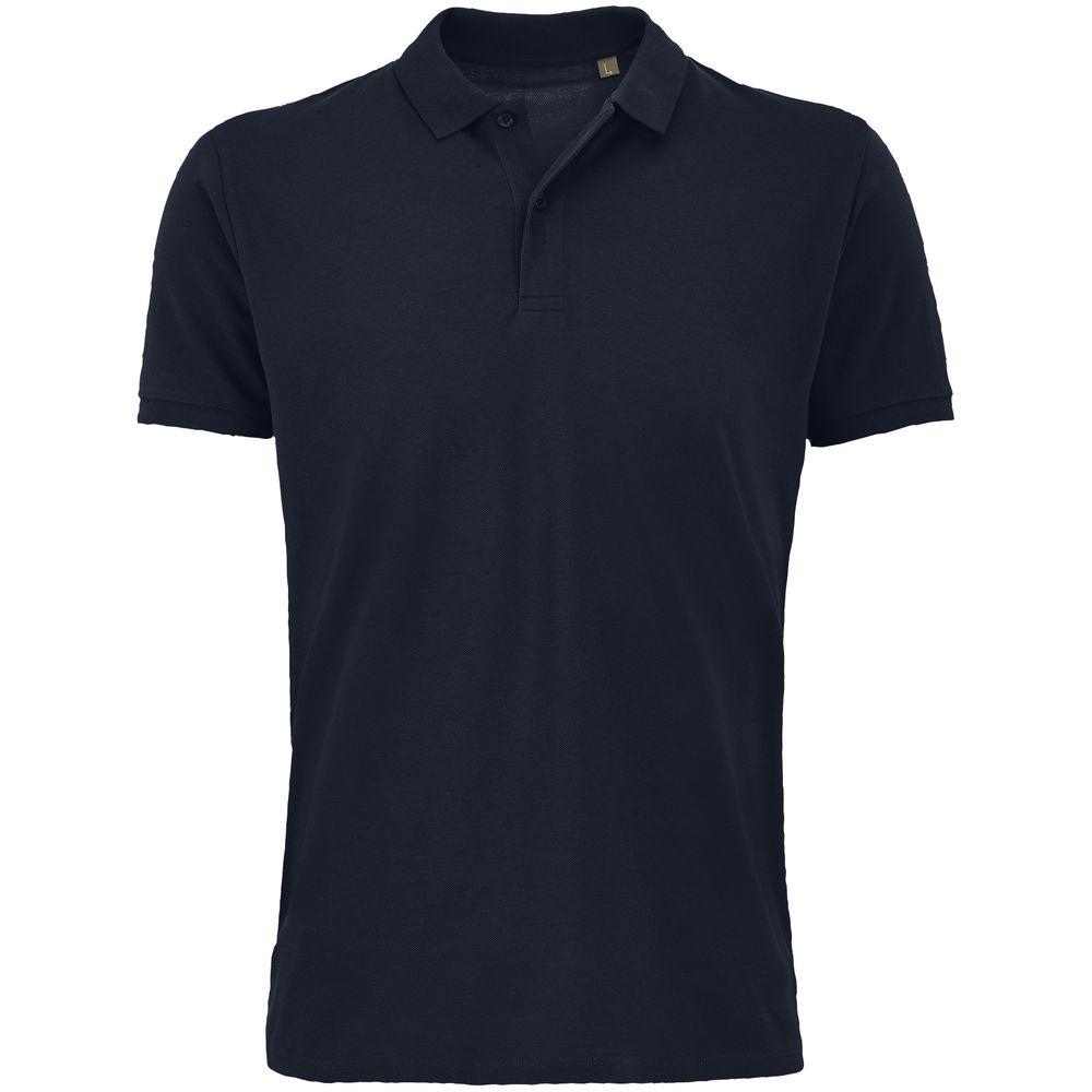 Рубашка поло мужская Planet Men, темно-синяя, размер S
