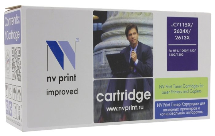 Картридж NV Print C7115X/2624X/2613X для HP картридж nv print 106r01524 для