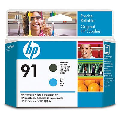 Фото - Печатающая головка HP Printhead HP 91 Matte Black and Cyan (C9460A) educating asian americans achievement schooling and identities