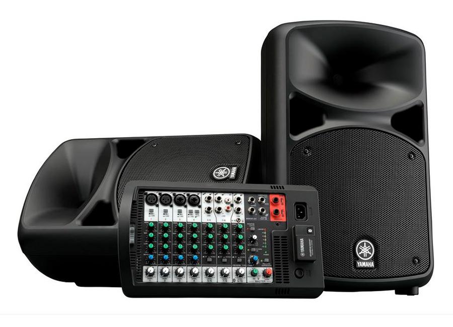Система звукоусиления Yamaha STAGEPAS 600BT