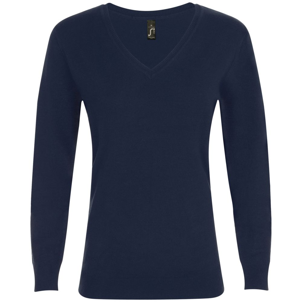 Фото - Пуловер женский GLORY WOMEN темно-синий, размер S пуловер laredoute крупной вязки s синий