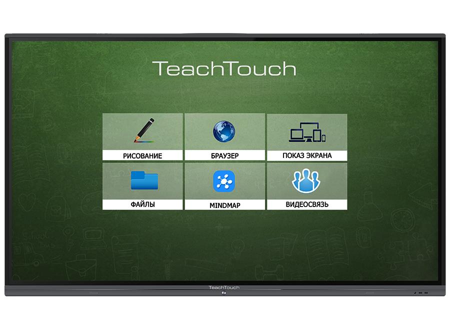 Фото - Интерактивный комплекс TeachTouch 4.0 SE 75, UHD, 20 касаний, PC, Win 10 40914 лента для принтеров lm 150 lp 350 pc ii белая шрифт голубой пластик 9 ммх7 м 1
