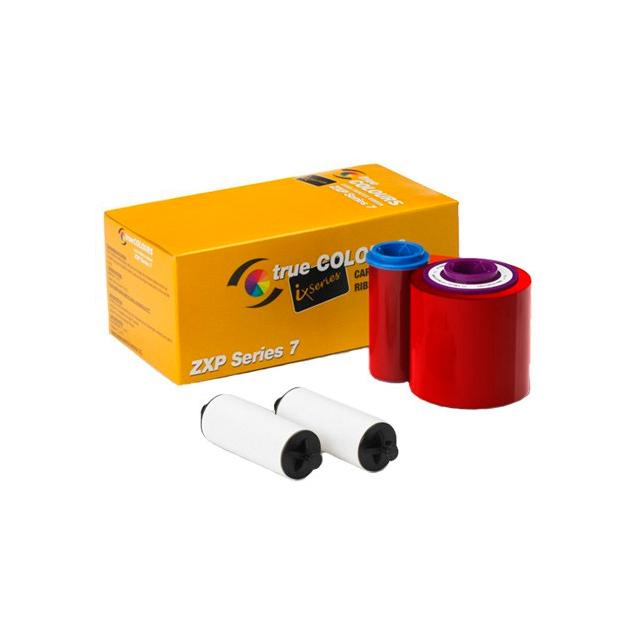 Фото - Монохромная красная лента 800077-712EM монохромная синяя красящая лента zebra 800300 304
