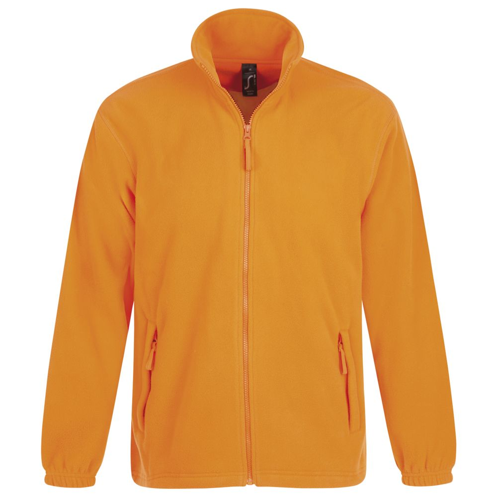 Куртка мужская North, оранжевый неон, размер XL