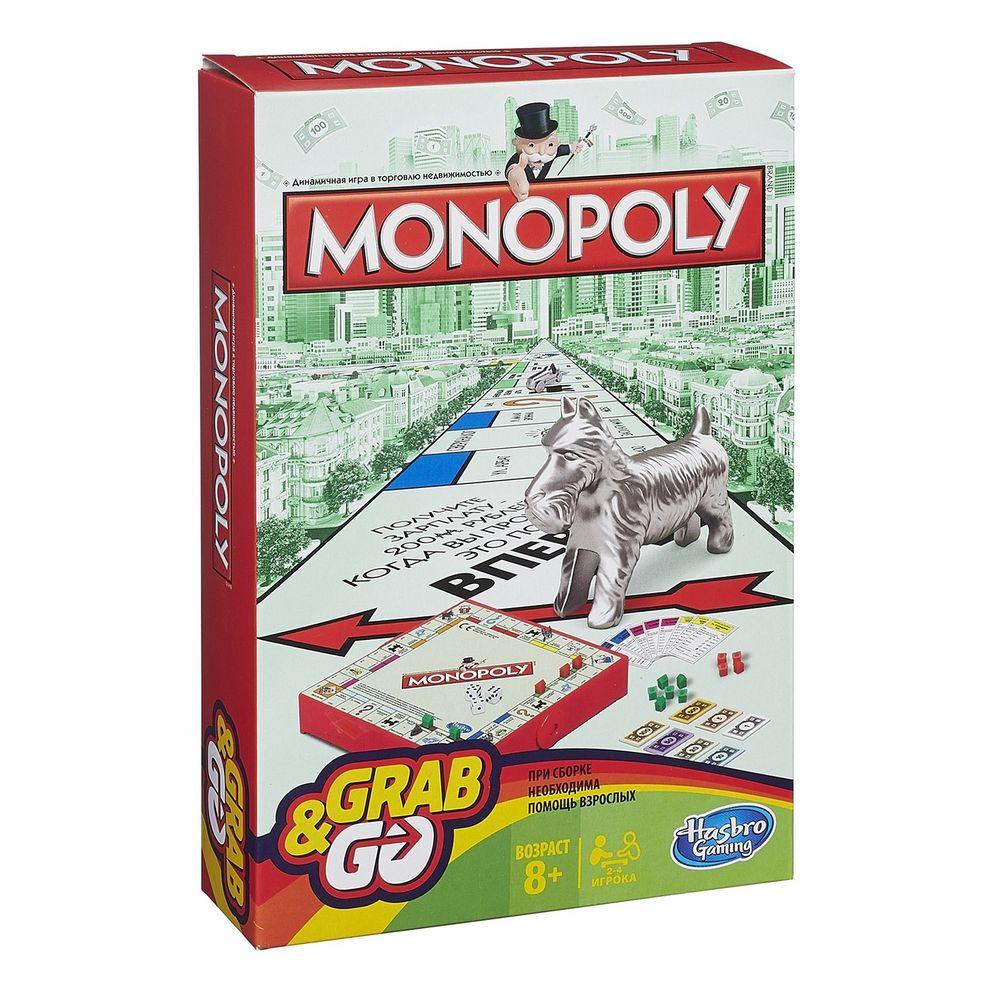 Игра настольная «Монополия», дорожная версия