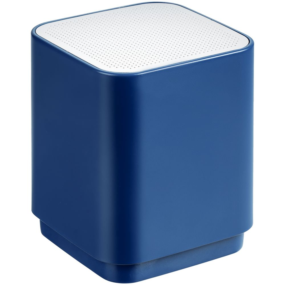 Фото - Беспроводная колонка с подсветкой логотипа Glim, синяя беспроводная колонка chubby синяя