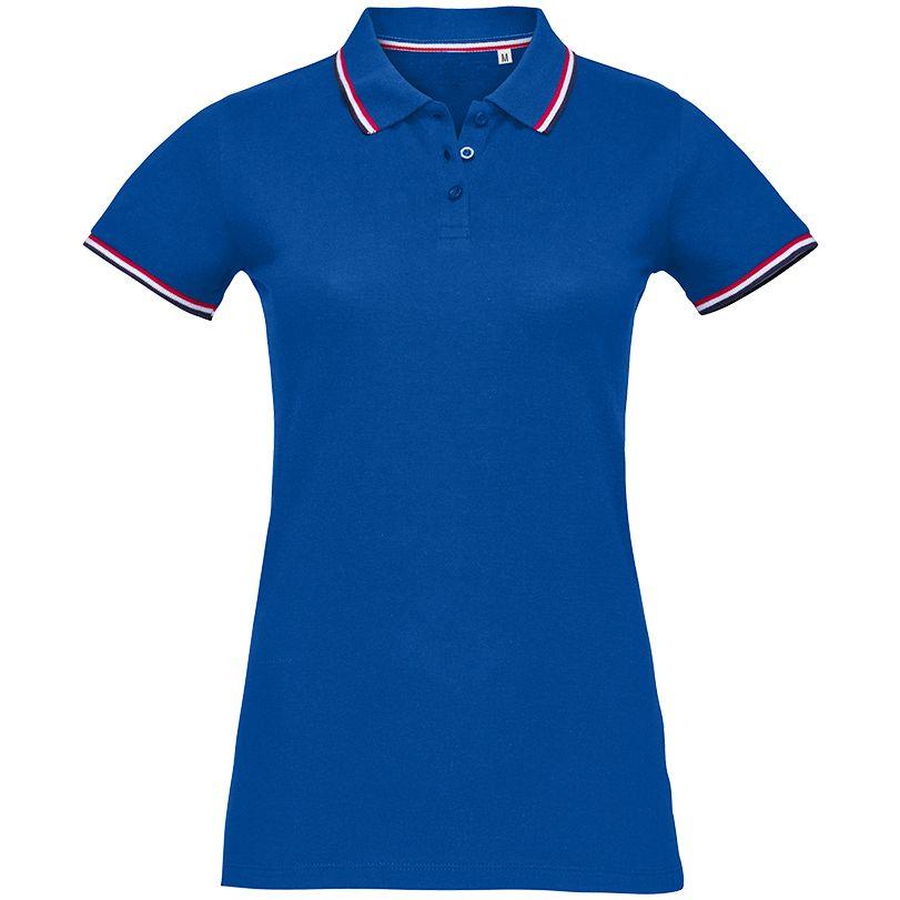 Рубашка поло женская PRESTIGE WOMEN ярко-синяя, размер M рубашка поло женская prestige women ярко синяя размер m
