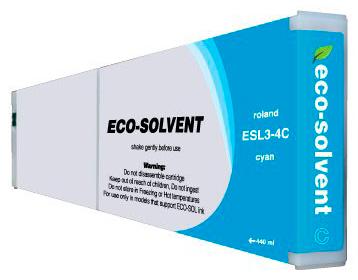 Фото - Roland ECO-Solvent Cyan 440 мл (ESL3-4CY) картридж esl3 mt