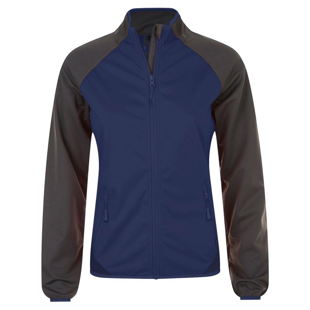 Куртка софтшелл женская ROLLINGS WOMEN темно-синий/серый, размер M