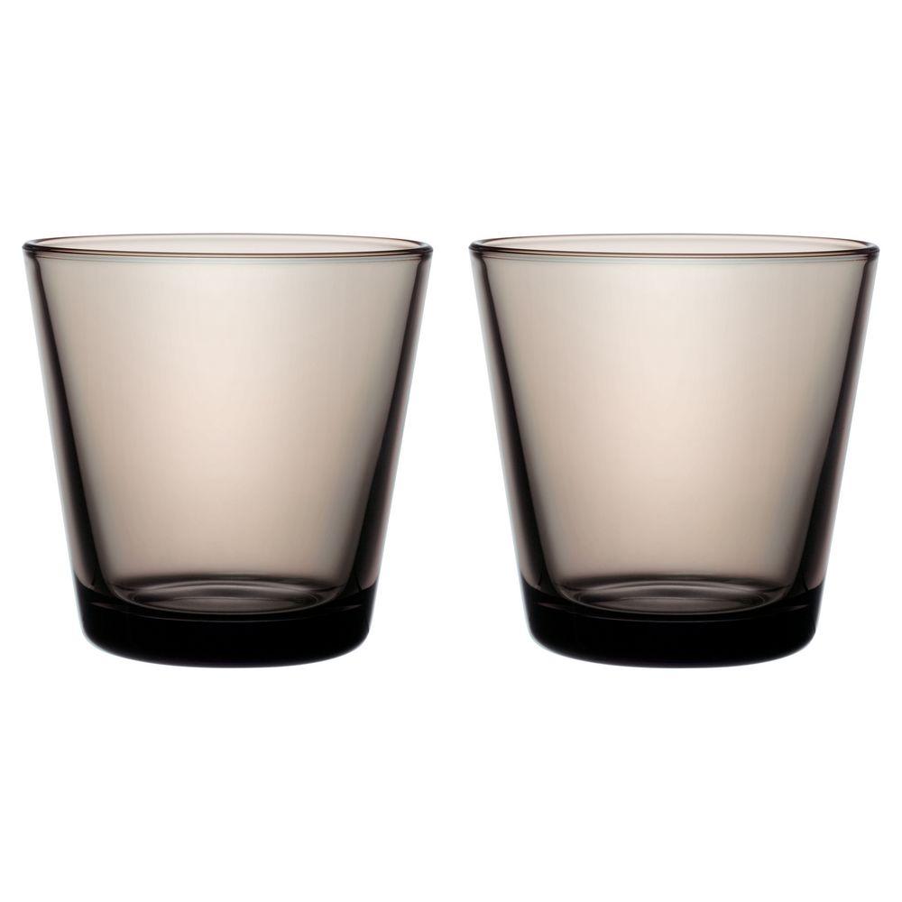 Фото - Набор малых стаканов Kartio, коричневый regalissimi набор из 2 х металлизированых бантов цветков малых