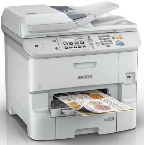 Фото - Epson WorkForce Pro WF-6590DWF (C11CD49301) принтер epson workforce pro wf 6090dw c11cd47301 a4