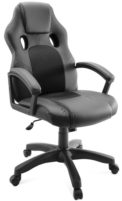 Кресло для геймеров Ягуар, черное