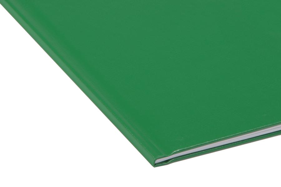 Папка для термопереплета Unibind твердая 120 зеленая.