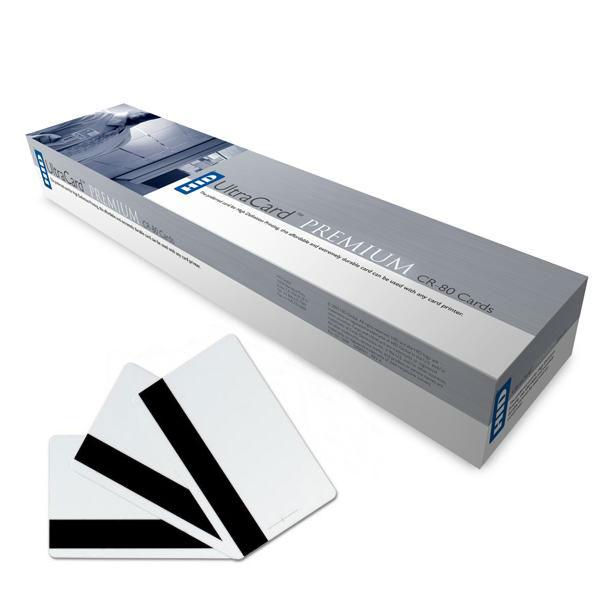 Усиленные композитные пластиковые карты Fargo UltraCard Premium HiCo с магнитной полосой 82137