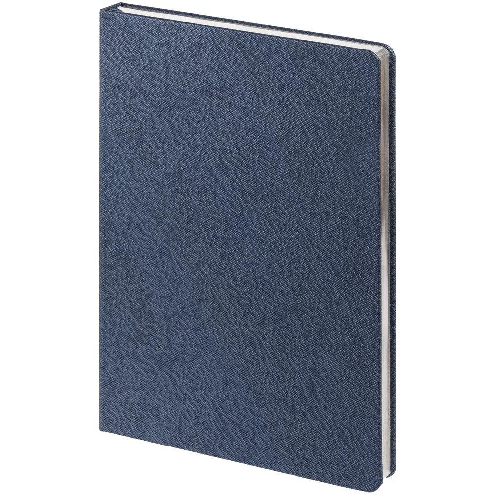Ежедневник Saffian, недатированный, синий недорого