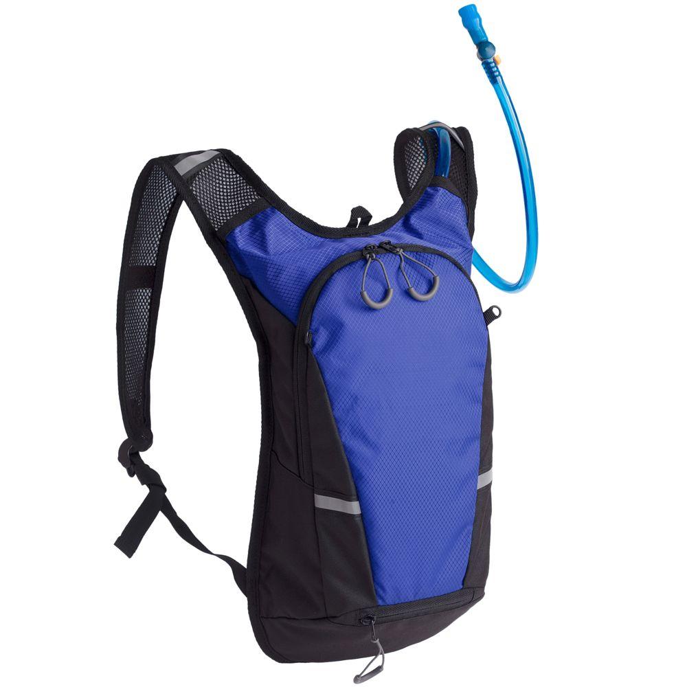 Рюкзак с питьевой системой Vattern, черный с синим изотермический рюкзак liten fest серый с синим