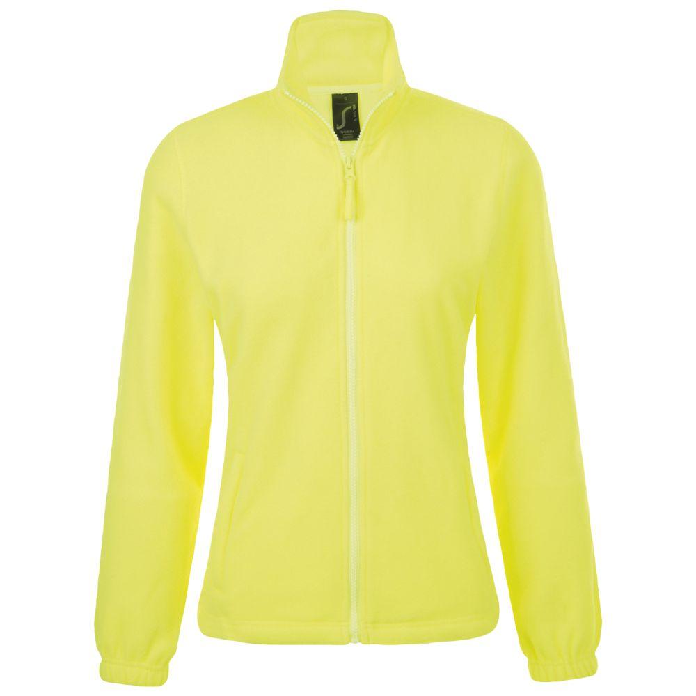 Куртка женская North Women, желтый неон, размер L куртка женская north women коричневая размер l