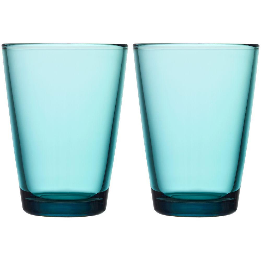 Набор больших стаканов Kartio, бирюзовый фото
