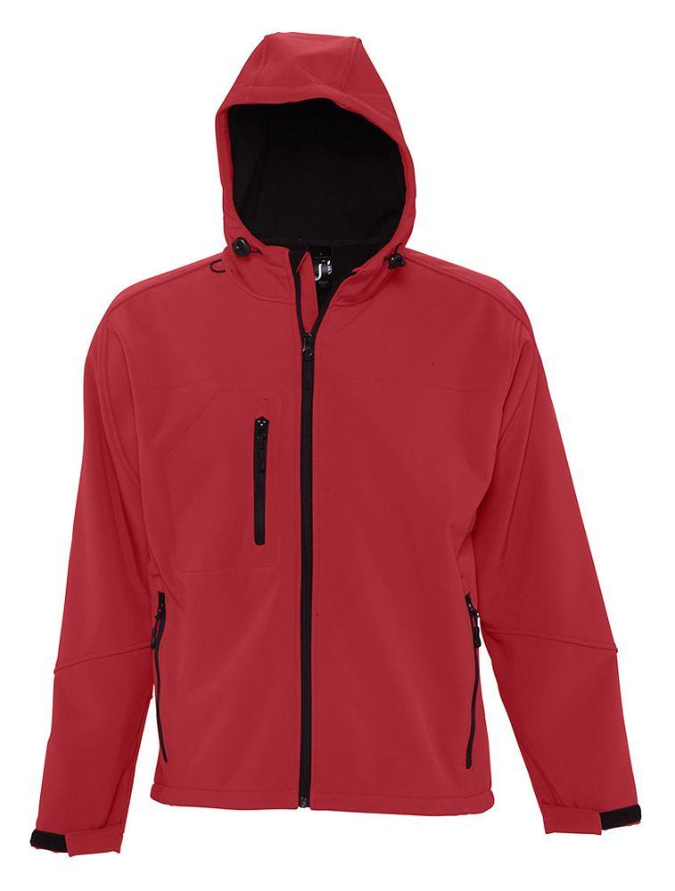 цена на Куртка мужская с капюшоном Replay Men 340, красная, размер 3XL