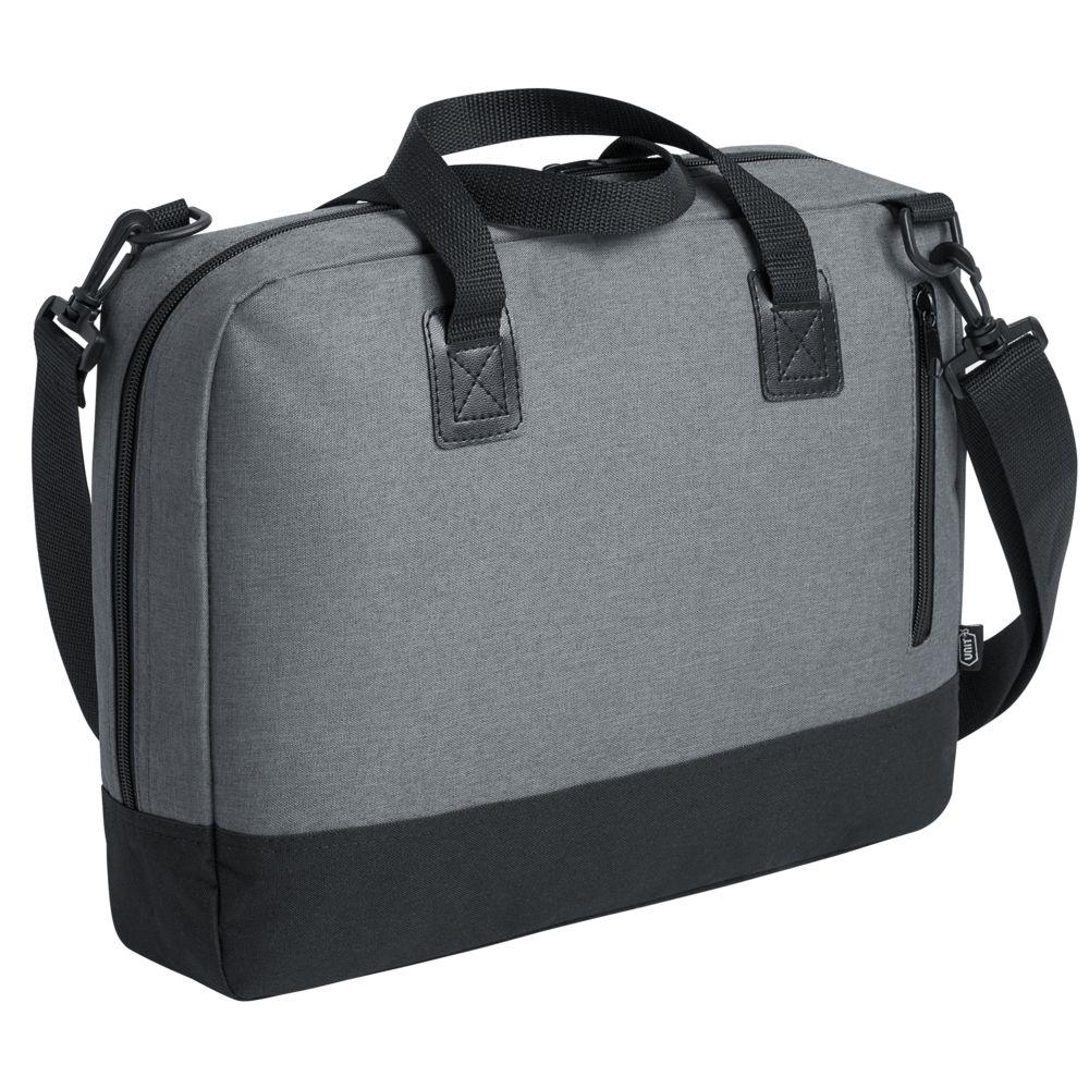 Сумка для ноутбука Unit Bimo Work, серая сумка для ноутбука unit bimo work зеленая