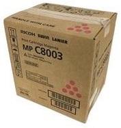 Тонер-картридж Ricoh MPC8003 малиновый тонер картридж ricoh mpc5502e малиновый 842022