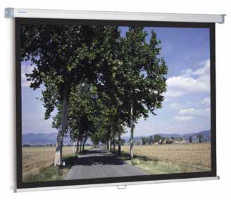 Фото - Projecta SlimScreen 160x160 Matte White (10200062) projecta slimscreen 180x102 matte white 10200081