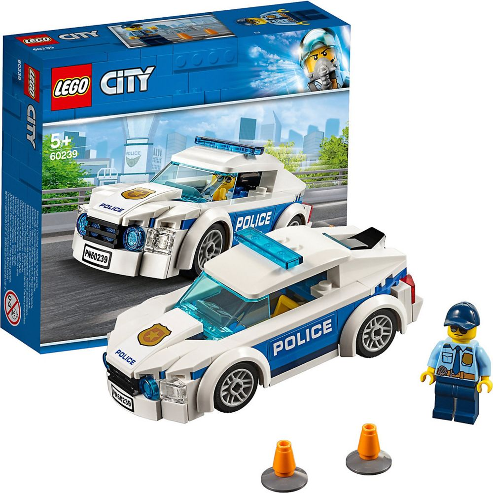 Конструктор «LEGO City. Автомобиль полицейского патруля»