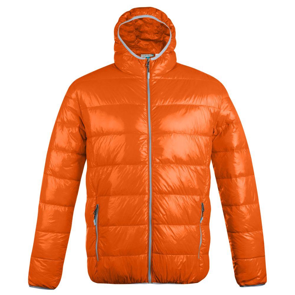 Куртка пуховая мужская Tarner оранжевая, размер S фото