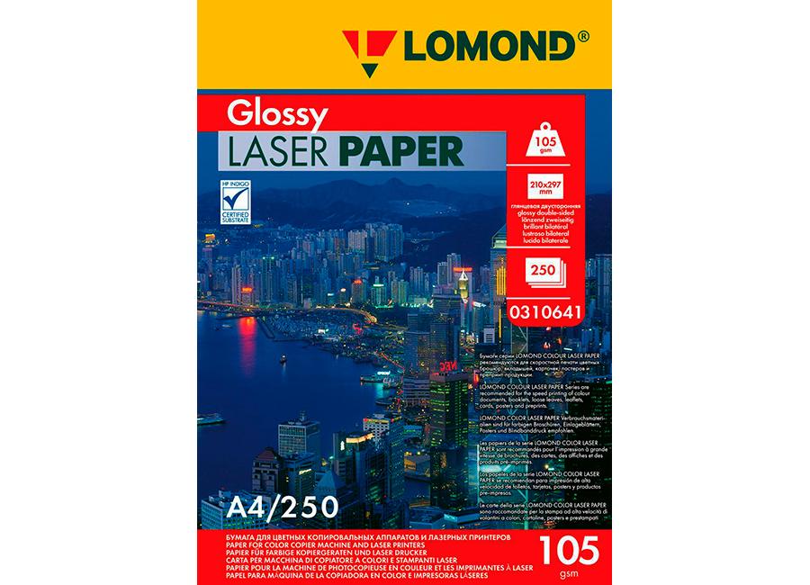 Фото - Lomond Glossy DS Colour Laser Paper А3, 105 г/м2, 250 листов (0310631) lomond matt ds color laser paper матовая а3 300 г м2 150 листов 0300731