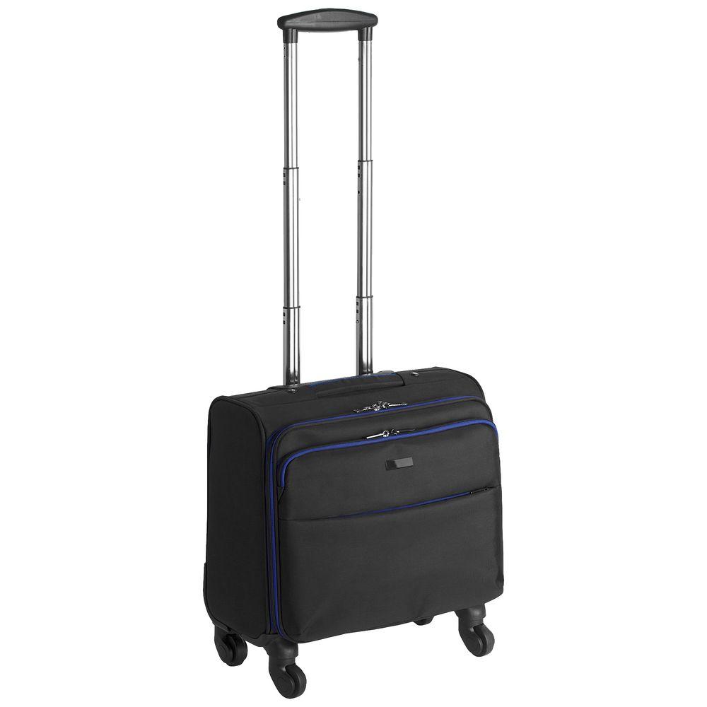 Чемодан 4-колесный onBoard, черный чемодан airport 77 см черный 4 колеса