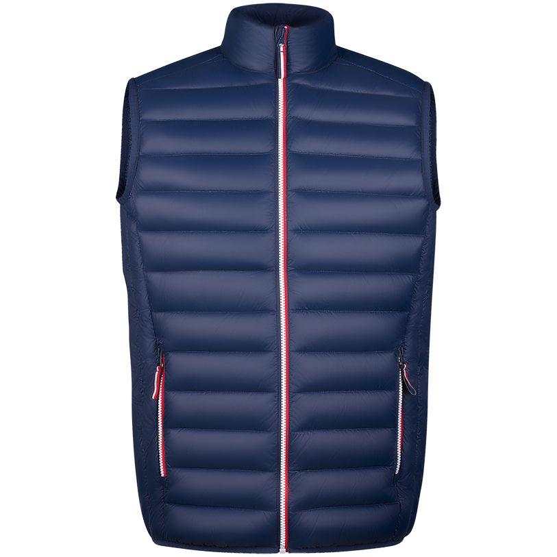 домашний комплект мужской vienetta s secret первый брюки кофта цвет темно синий 703003 0000 размер m 46 Жилет мужской VICTOIRE BW MEN темно-синий, размер M