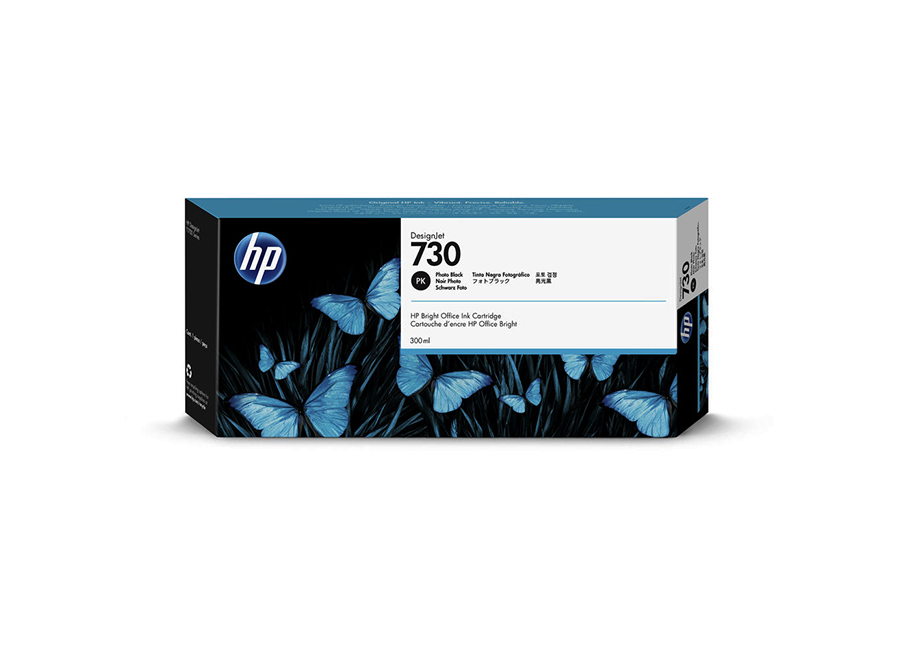Фото - HP DesignJet 730 Photo Black 300 мл (P2V73A) hp hp 730 p2v71a для hp dj t1700 черный