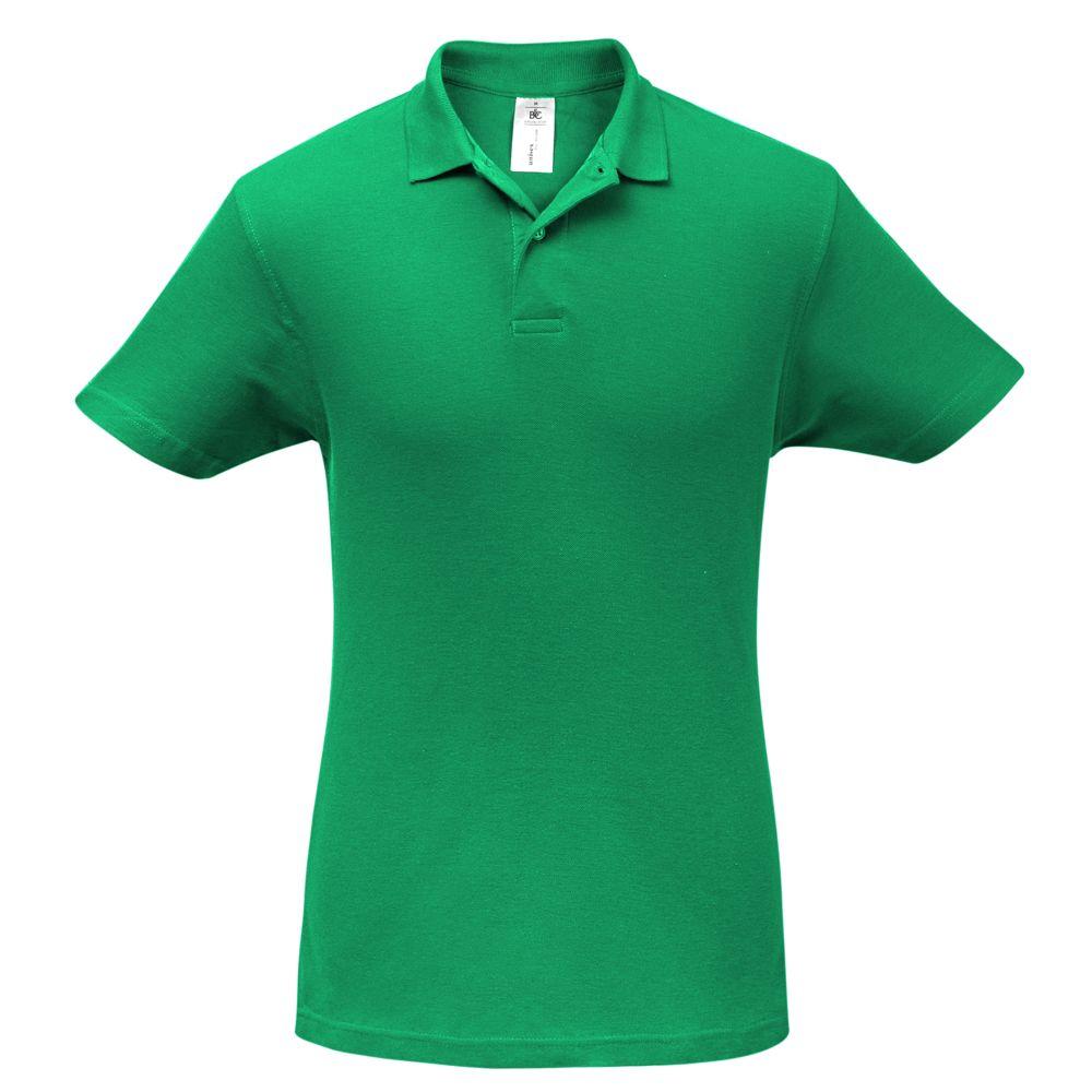 цена Рубашка поло ID.001 зеленая, размер XL онлайн в 2017 году