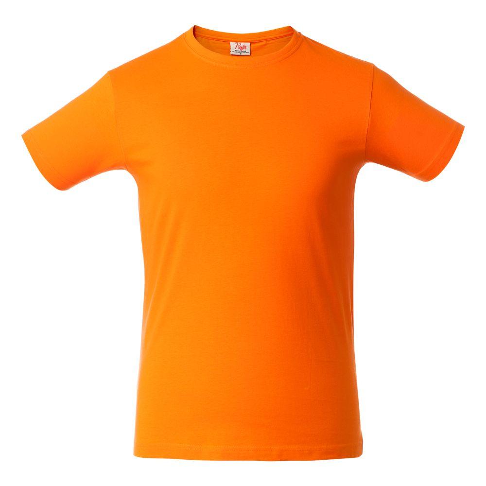 Футболка мужская HEAVY оранжевая, размер S