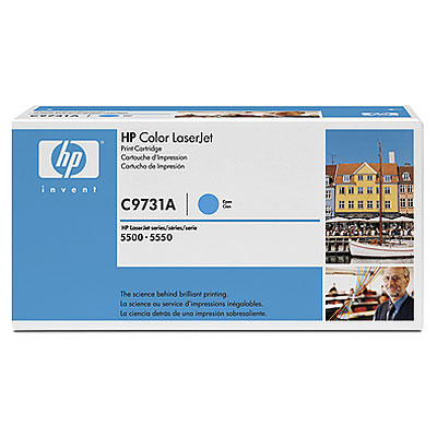Фото - Тонер-картридж HP 645A C9731A тонер картридж 728 3500b010 русифицированная упаковка