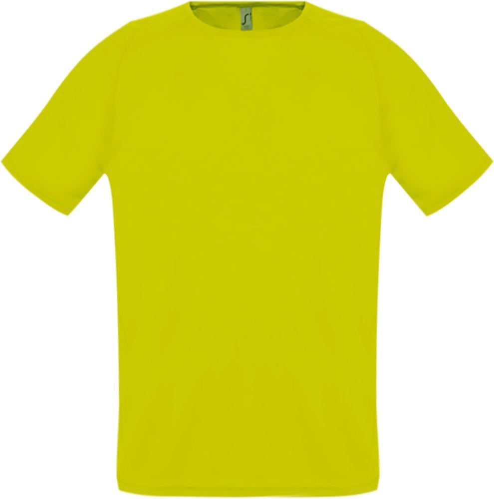 Футболка унисекс SPORTY 140 желтый неон, размер XXS футболка унисекс sporty 140 красная размер xxs